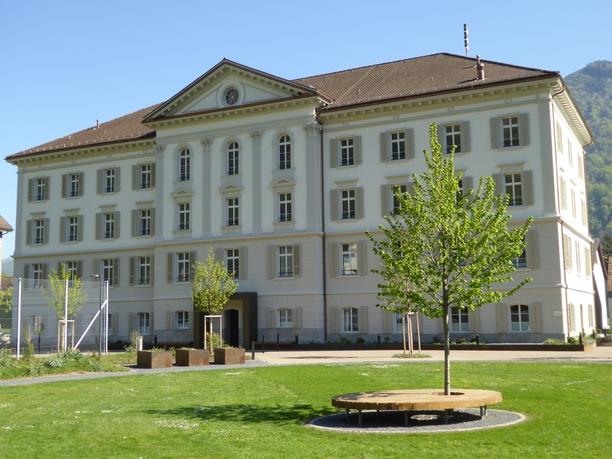 Haus Hofmatt mit Park